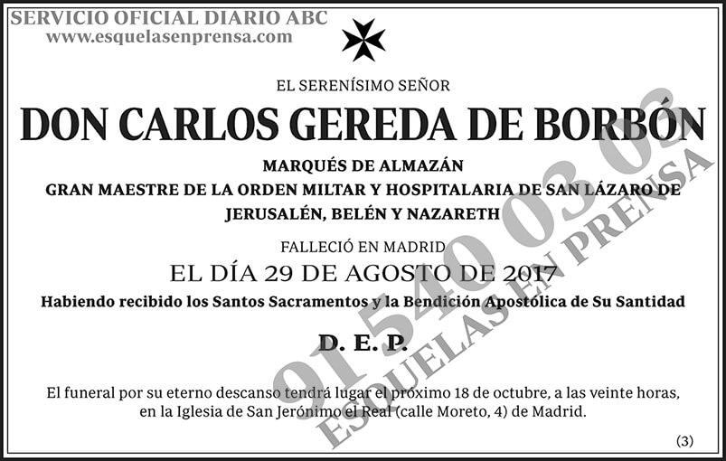 Carlos Gereda de Borbón